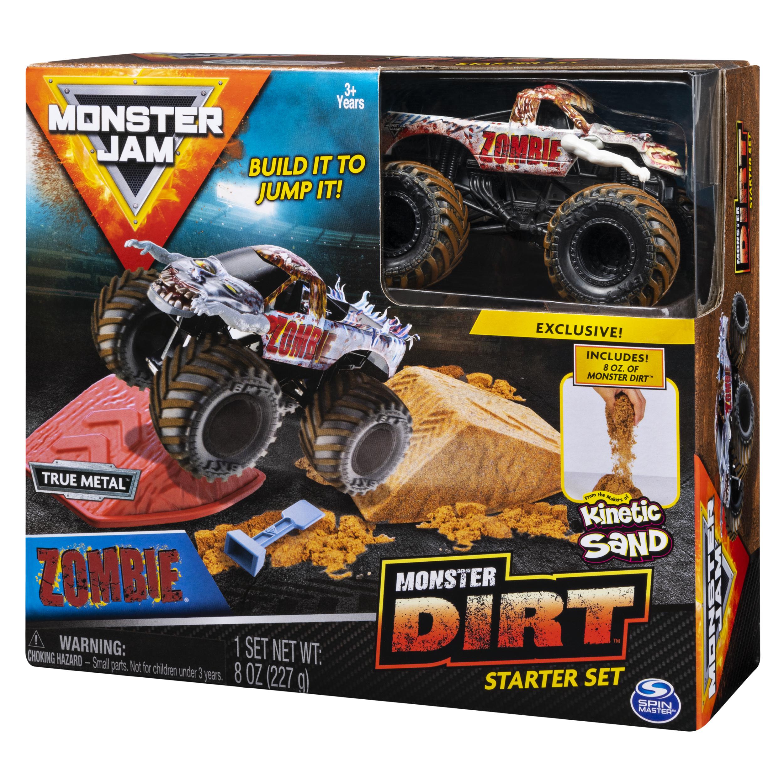 Купить Monster Jam машинка Монстр Джем - Zombie, с кинетическим песком 6054962, Китай