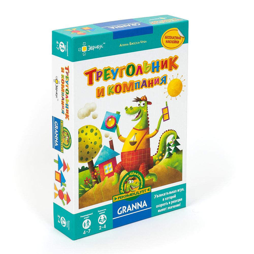 Купить Эврикус Настольная игра Треугольник и компания , Россия