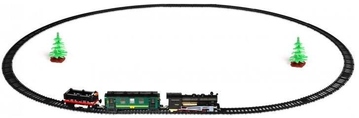 """Fenfa """"RailCar 350 деталей   1608-1A"""" - железная дорога сборная"""