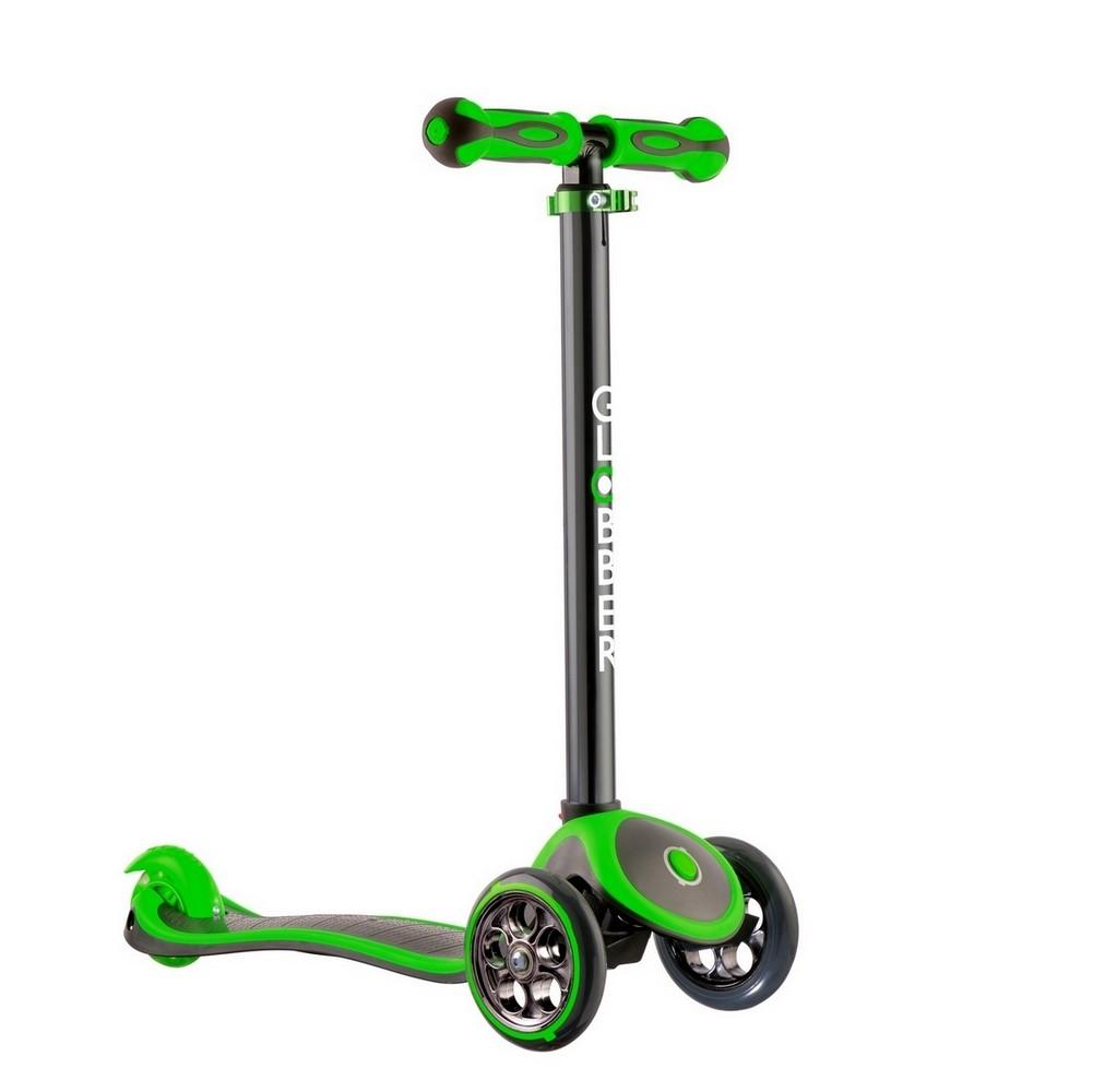 Купить Y-SCOO Самокат RT GLOBBER My free TITANIUM neon green с блокировкой колёс, Китай