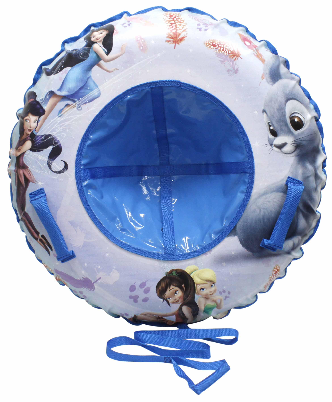 Купить DISNEY тюбинг Феи 100 см - надувные сани, голубой, 1toy, Китай