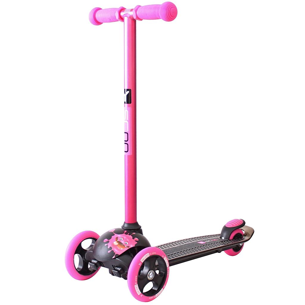 Купить Y-SCOO Самокат RT TRIO DIAMOND 120 Monsters Zoi, розовый, Китай