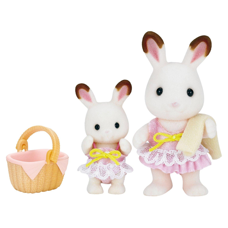 Купить Sylvanian Families набор Кролики в купальных костюмах , Китай