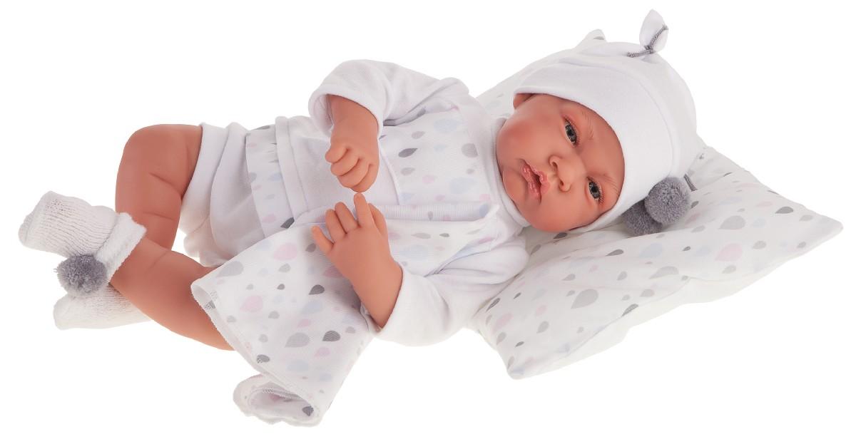 Antonio Juan 3393W Кукла Вирджиния в белом,40 см