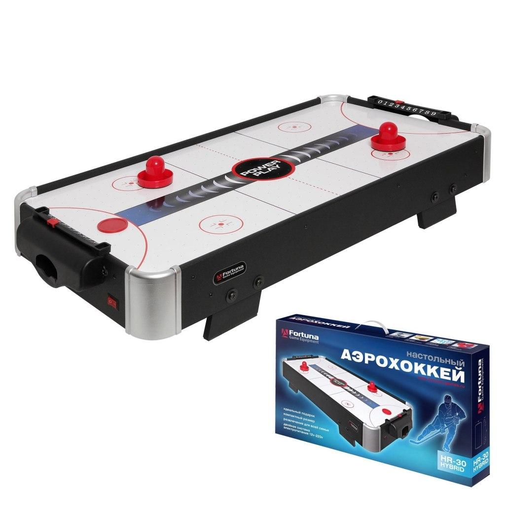 Купить Настольная игра FORTUNA 07747 Аэрохоккей HR-30 Power Play Hybrid, Китай