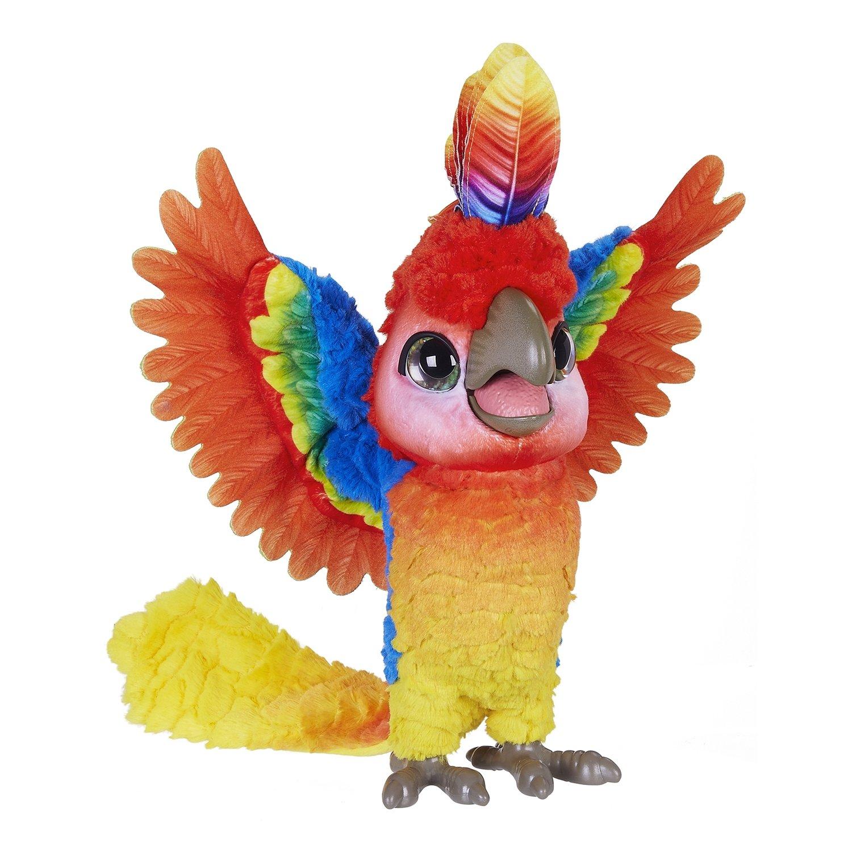 Купить FurReal Friends Игрушка Поющий попугай Кеша , Китай