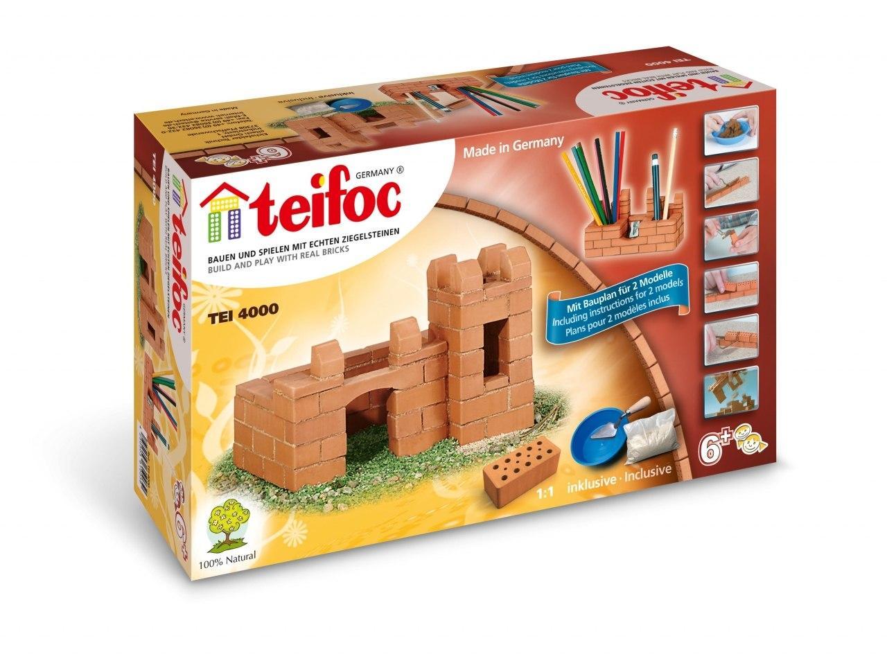 Купить Конструктор TEIFOC TEI 4000 Крепость-карандашница, Германия