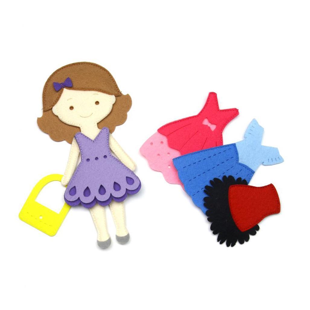 Купить Фетров Игровой набор Одень куклу. Маленькая модница , Россия