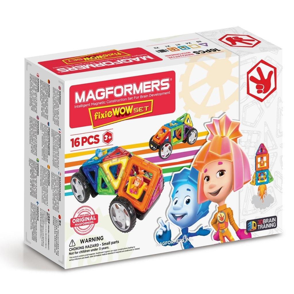 Купить Магнитный конструктор MAGFORMERS 770001 Fixie Wow set, Китай