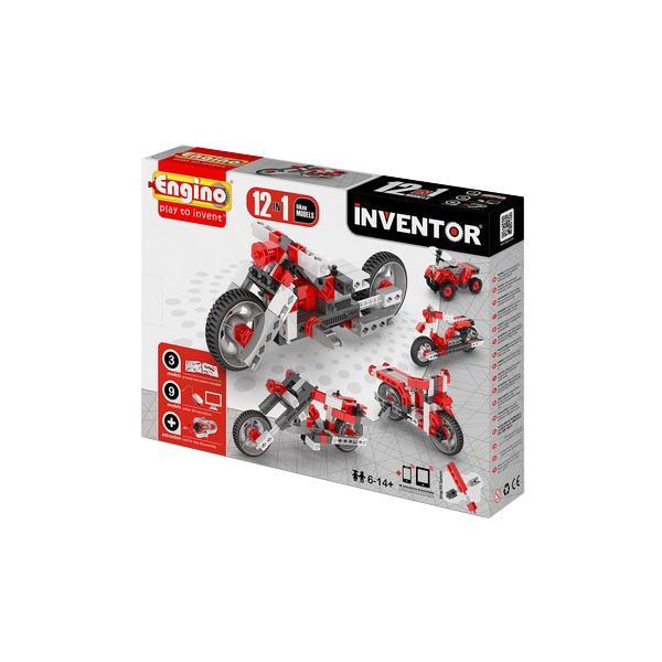 Купить ENGINO PB 32/1232 INVENTOR Мотоциклы - конструктор 12 моделей, Кипр