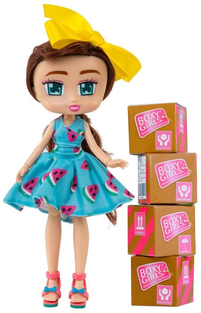 Кукла 1TOY Boxy Girls Brooklyn с аксессуарами в 4-х коробочках