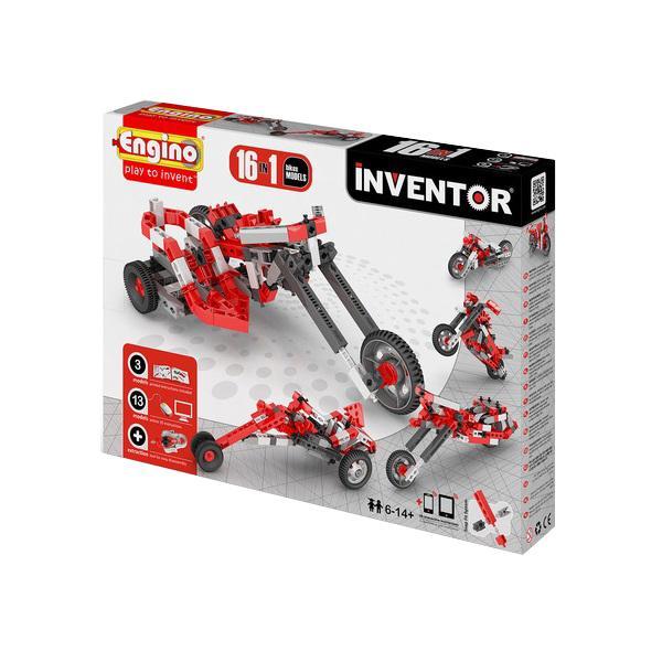 Купить Конструктор ENGINO PB 42/1632 INVENTOR Мотоциклы - 16 моделей, Кипр