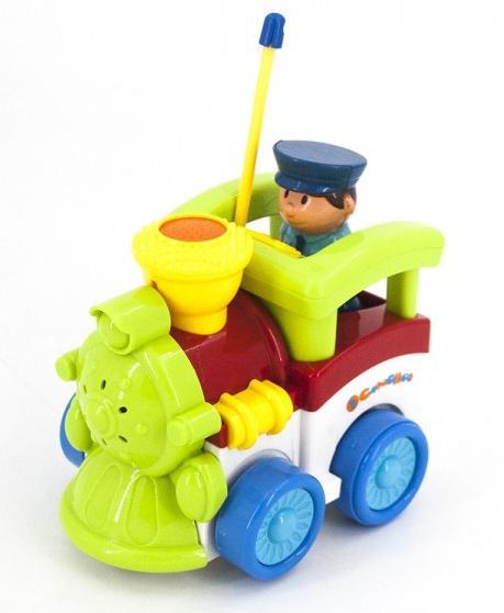 Купить JakMean Детский зеленый радиоуправляемый паровоз   6605 , Китай