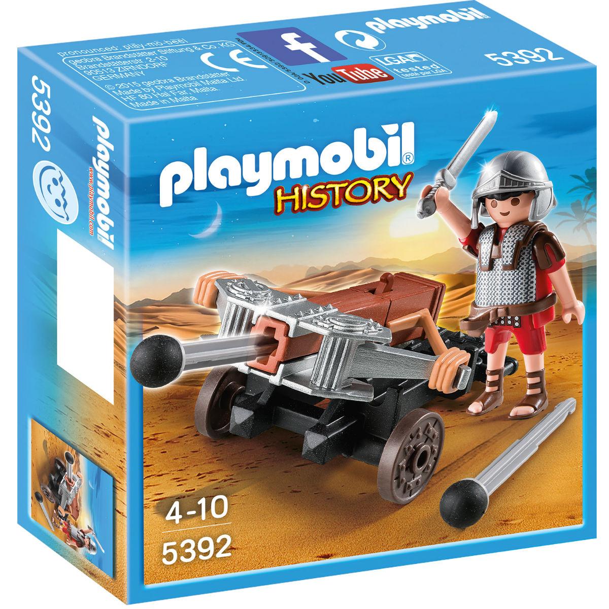 Купить Playmobil Игровой набор Римляне и египтяне Легионер с баллистой, Германия