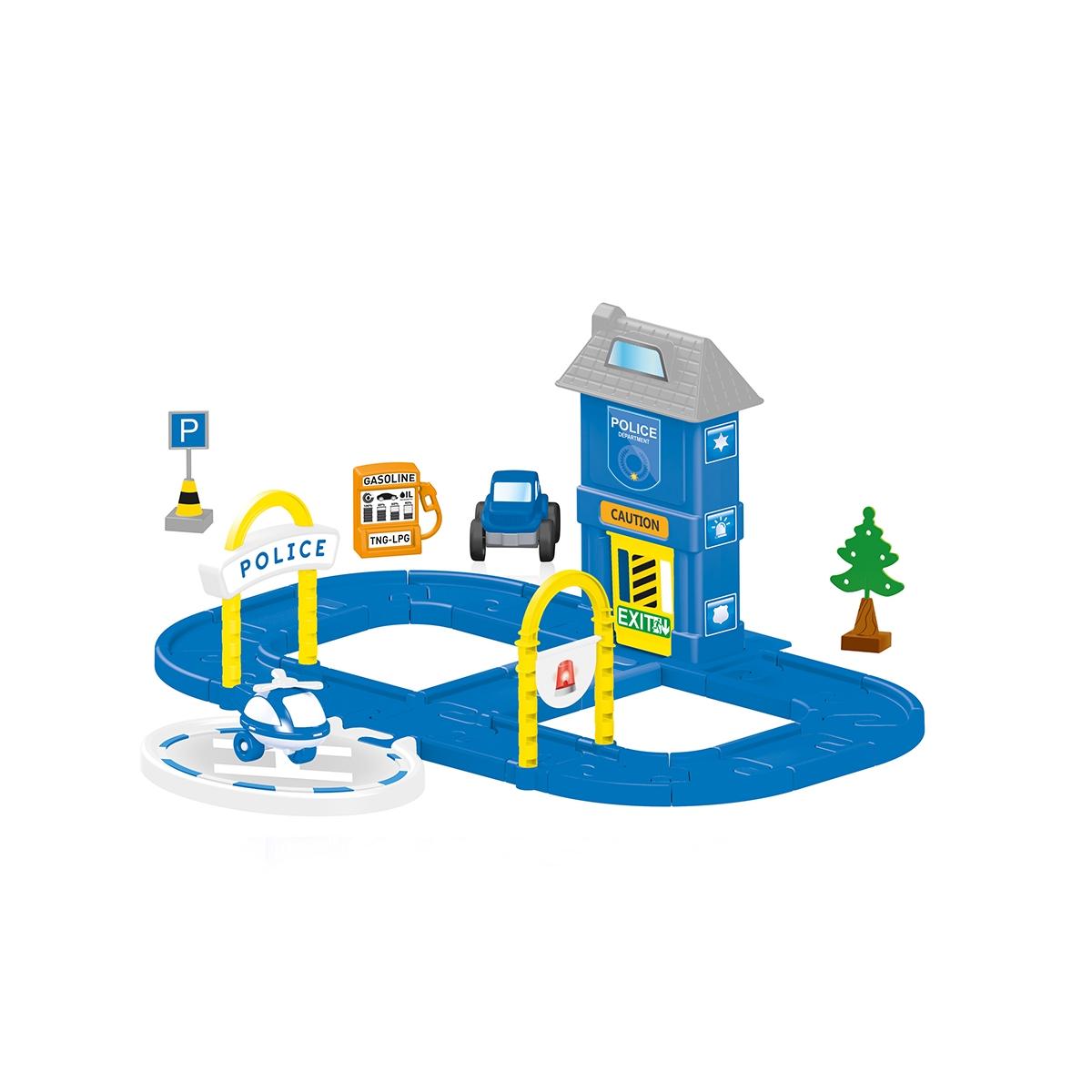 Купить Dolu Игровой набор полицейская станция с круговой дорогой, Турция