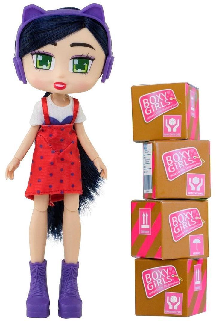 Кукла 1TOY Boxy Girls Riley с аксессуарами в 4-х коробочках