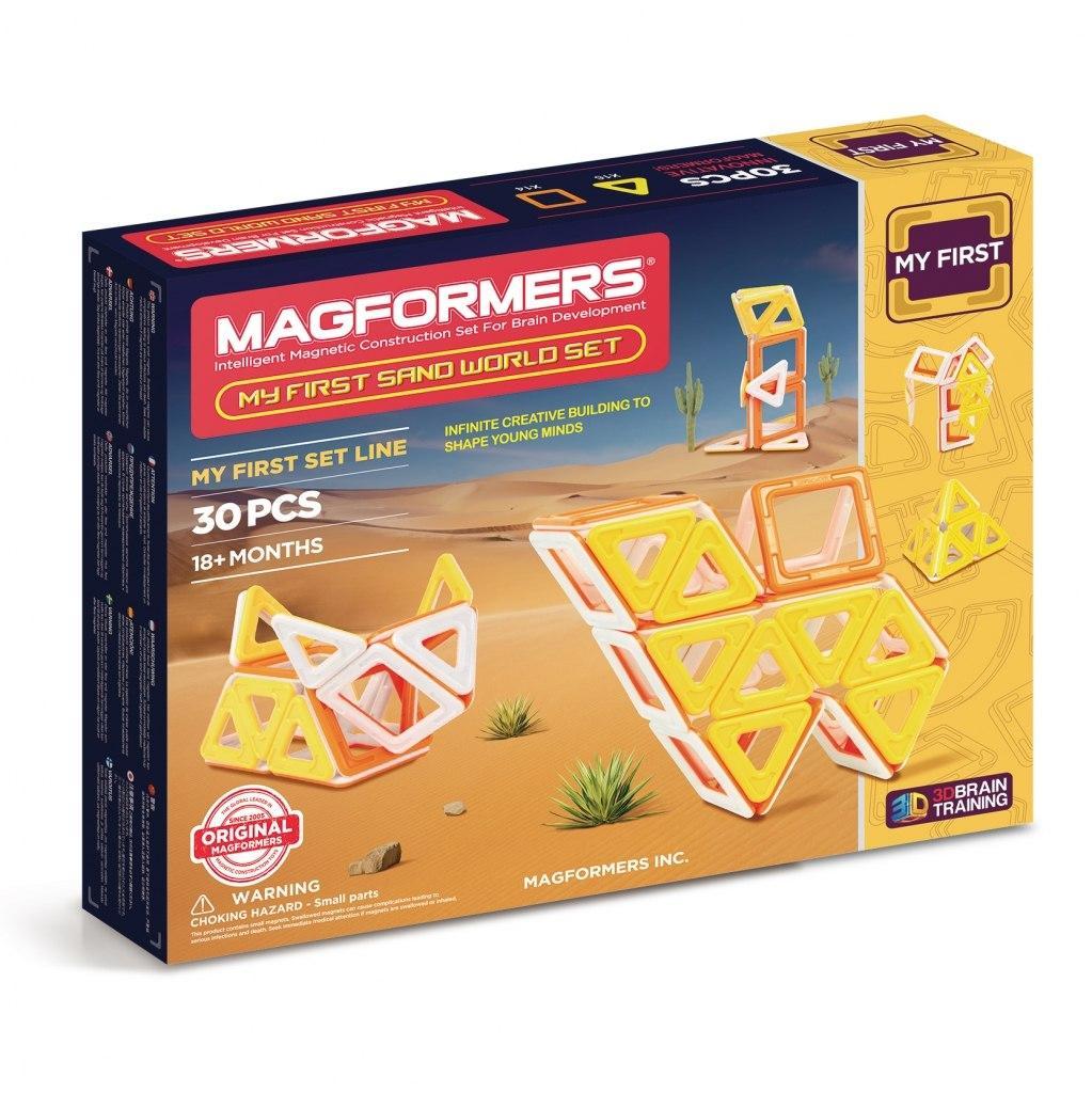 Купить Магнитный конструктор MAGFORMERS 702010 My First Sand World set, Китай