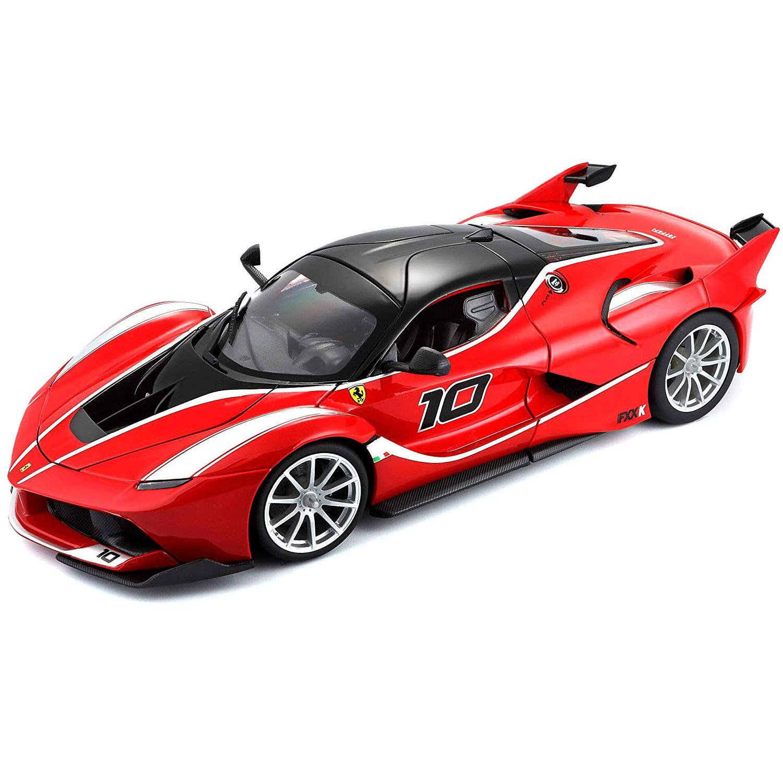 Купить Bburago Машинка Феррари 1:18 Ferrari FXX К, красный, 18-16010, Китай