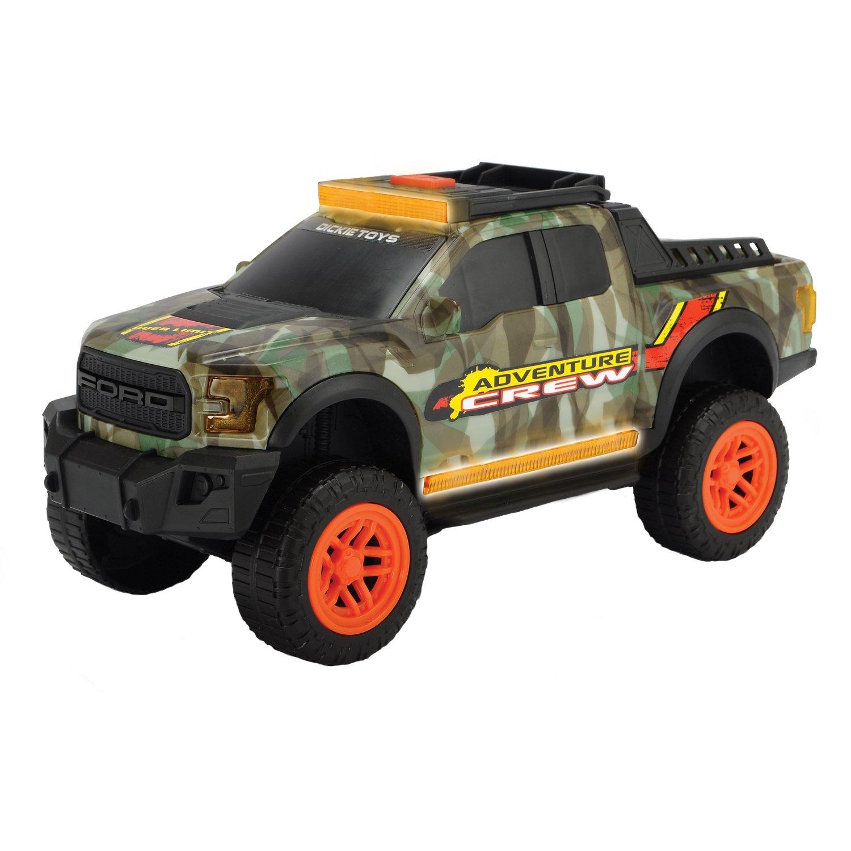 Купить Dickie Toys Машинка Adventure Ford F150 Raptor 33 см свет звук 3756001, Китай