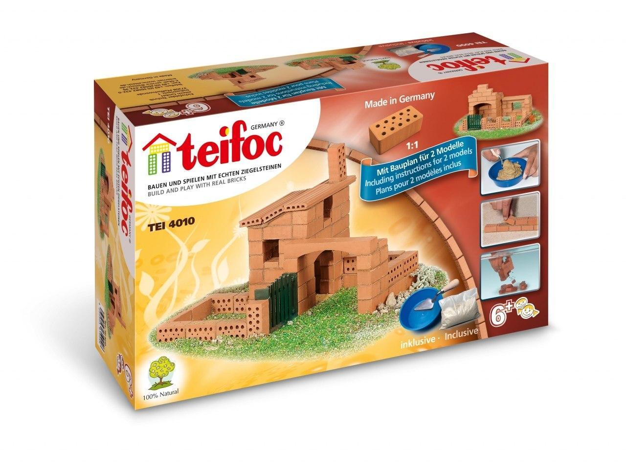 Купить Конструктор TEIFOC TEI 4010 Дом 2 модели, Германия