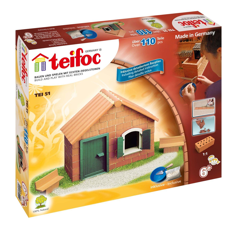 Купить Конструктор TEIFOC TEI51 Дом, 110 деталей, Германия