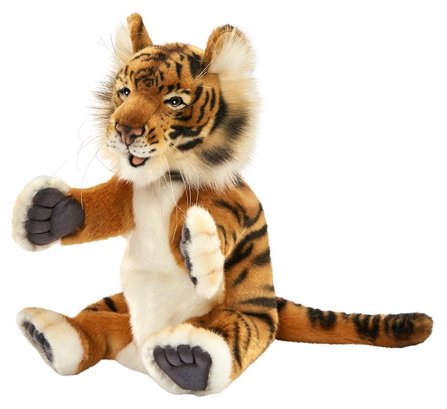 Купить Hansa Creation Тигр, игрушка на руку, 24 см - 4039 - мягкая игрушка, Филиппины