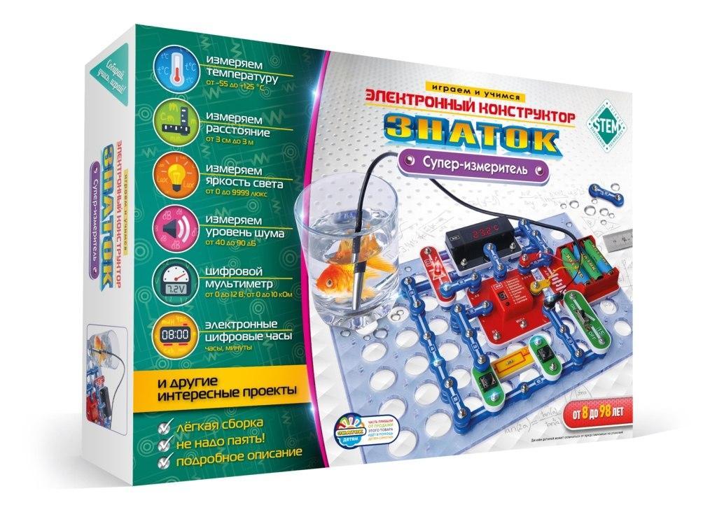 Купить Конструктор ЗНАТОК ZP 70694 Супер-измеритель, Знаток, Китай