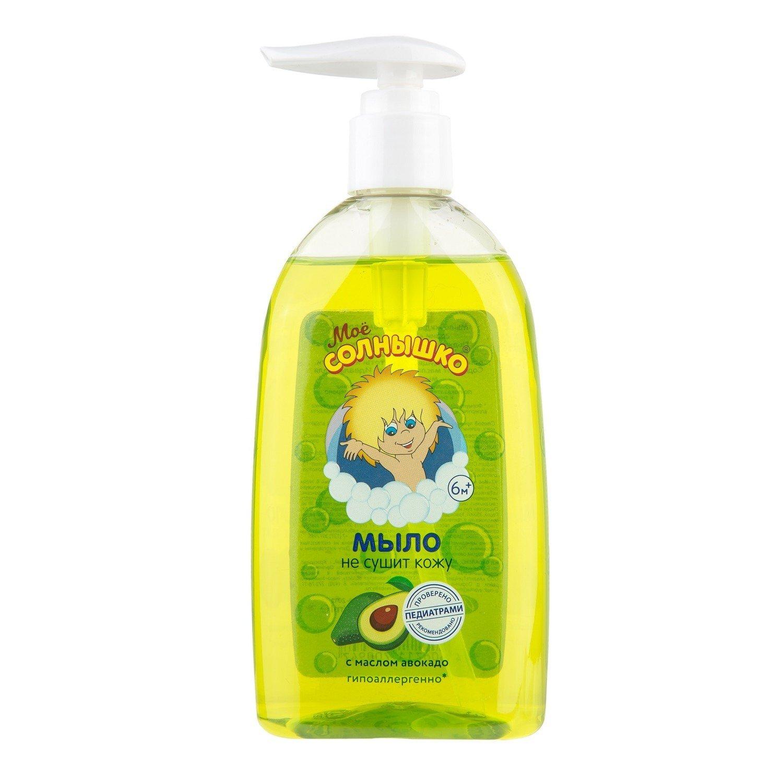Купить Моё солнышко Мыло жидкое с маслом авокадо, 300 мл, Россия