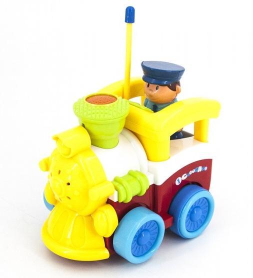 Купить JakMean Детский желтый радиоуправляемый паровоз - 6605 , Китай