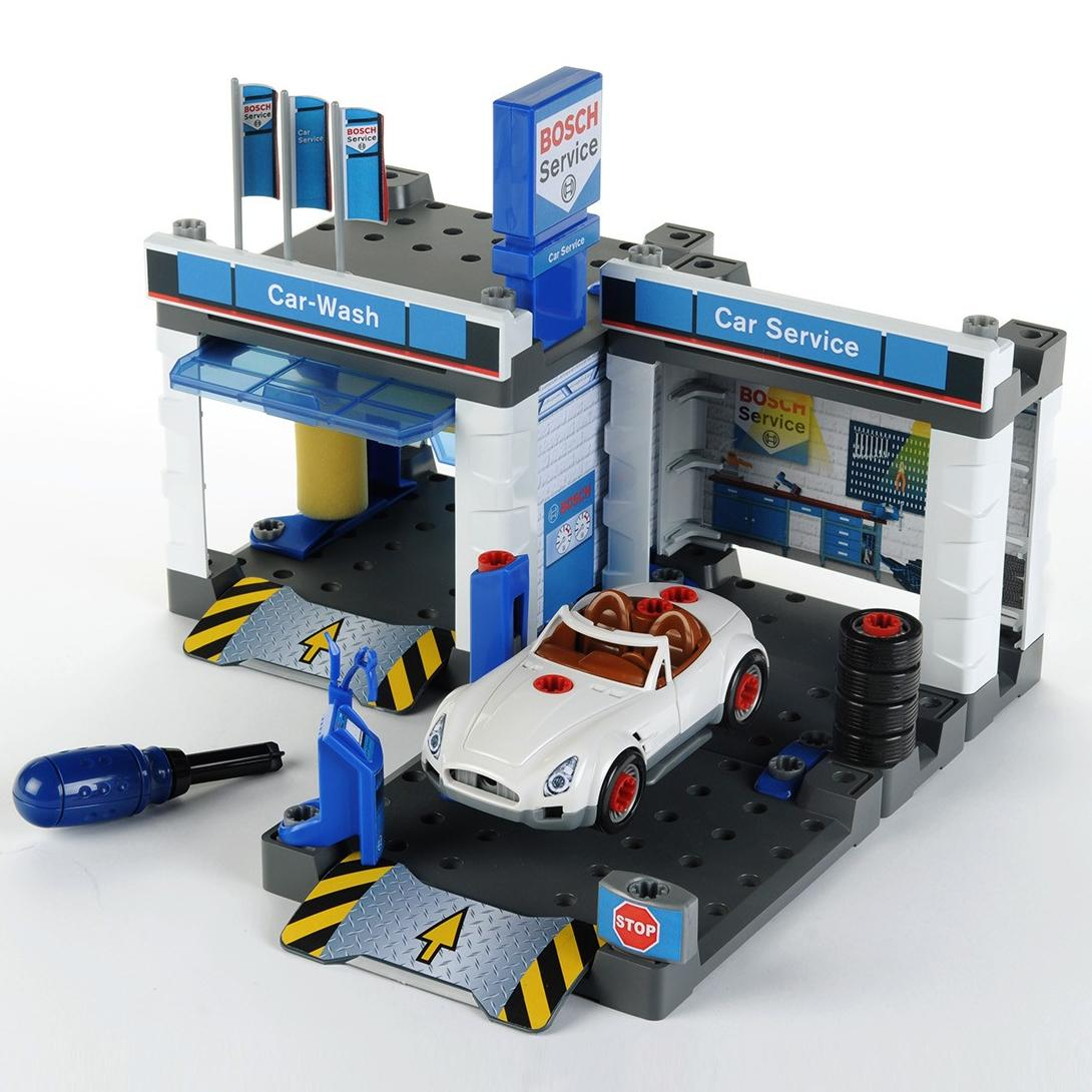 Klein Автосервис с мойкой и машиной для сборки Bosch