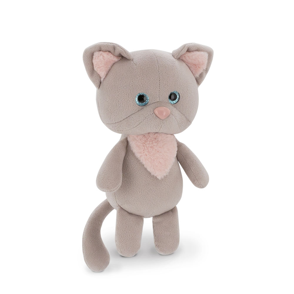 Купить Orange Мягкая игрушка Mini Twini Котёнок серый , 20 см, Китай