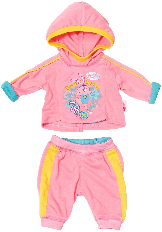 Спортивный костюмчик для Baby Born 43 см розовый