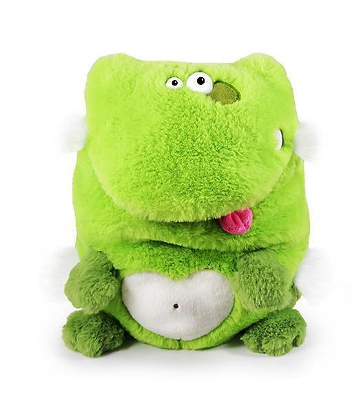 Мягкая игрушка BUDI BASA Лягушка,26 см