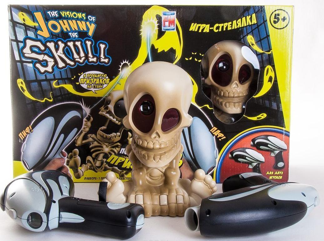 """Johnny the Skull """"Проектор Джонни Череп с двумя бластерами"""" - интерактивный тир"""