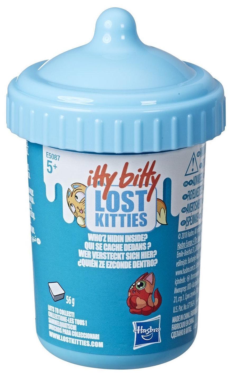 Купить Игровой набор Hasbro Lost Kitties Бутылочка с котиком, Китай