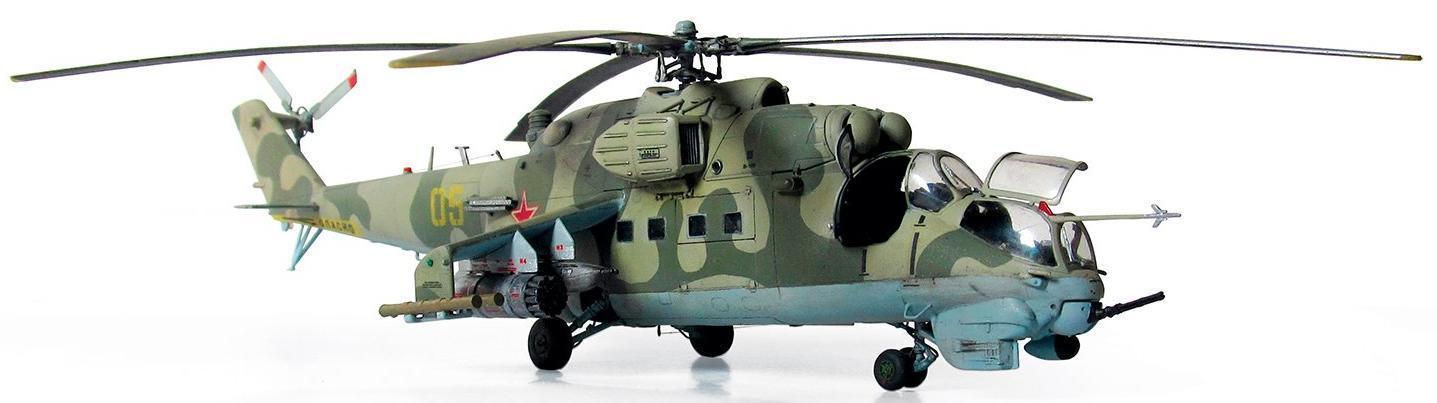 Купить Модель для склеивания ZVEZDA 7293 Советский вертолет Ми-24 В/ВП Крокодил , Россия