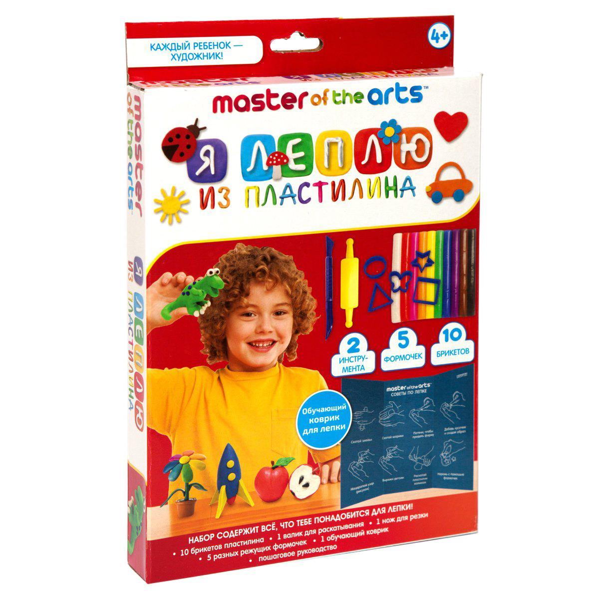 Купить Набор для творчества НОВЫЙ ФОРМАТ 21040 Я леплю из пластилина, Новый формат, Китай