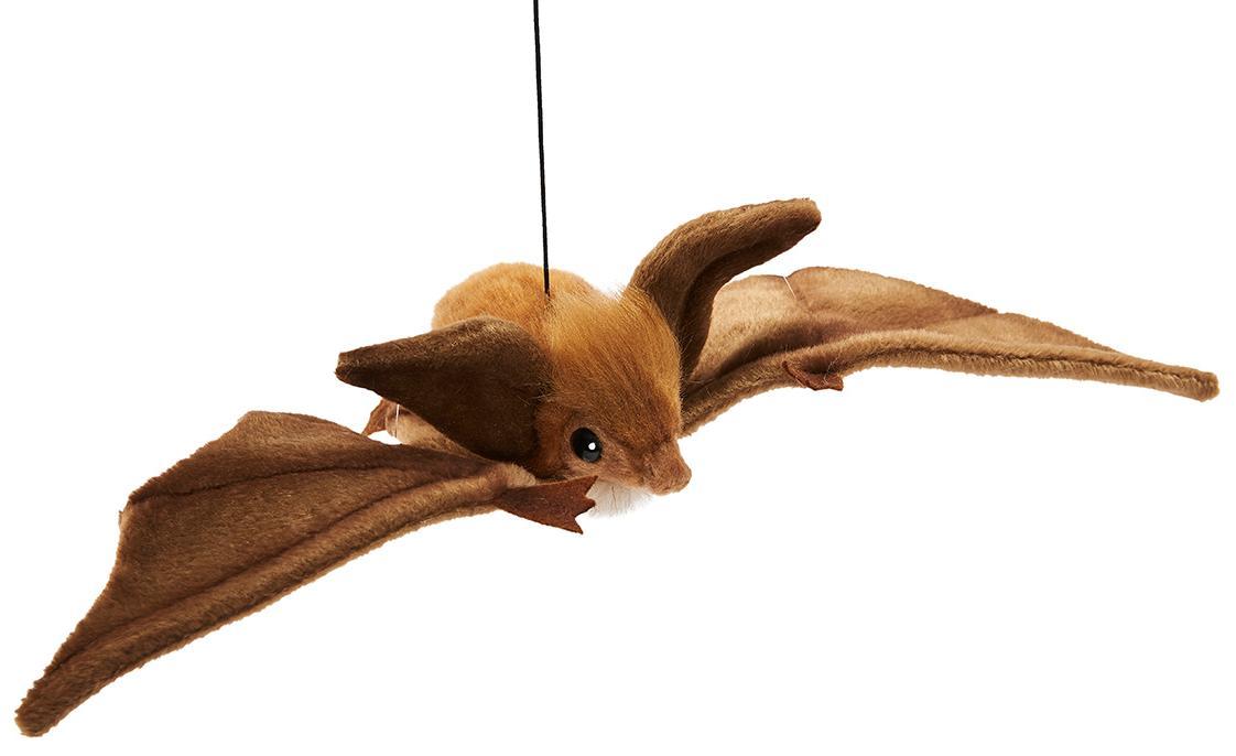 Купить Hansa Мягкая игрушка Коричневая летучая мышь парящая, 37 см, Hansa Creation, Филиппины