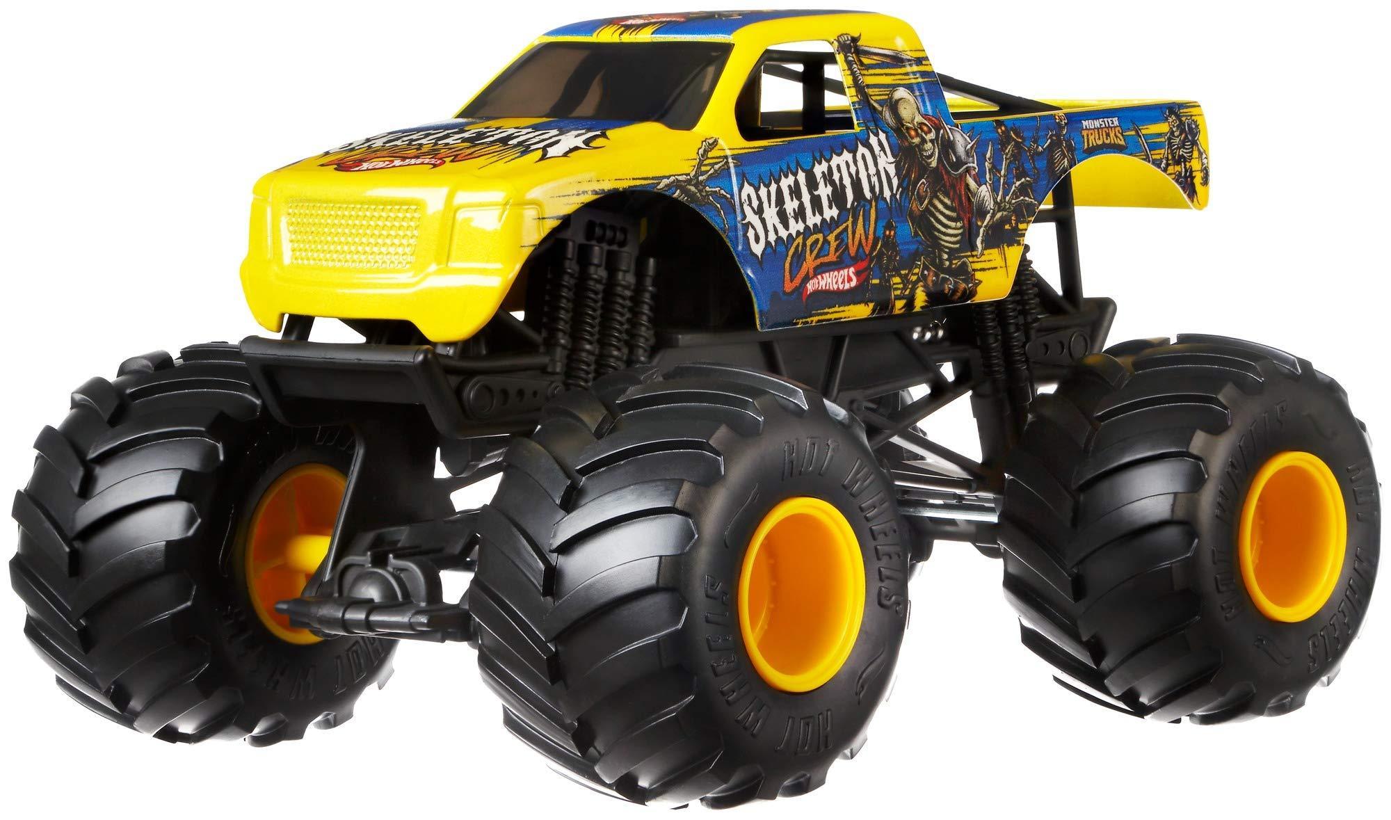 """Hot Wheels """"Монстр трак - Skeleton Crew"""" - игровая машинка   Бигфут"""