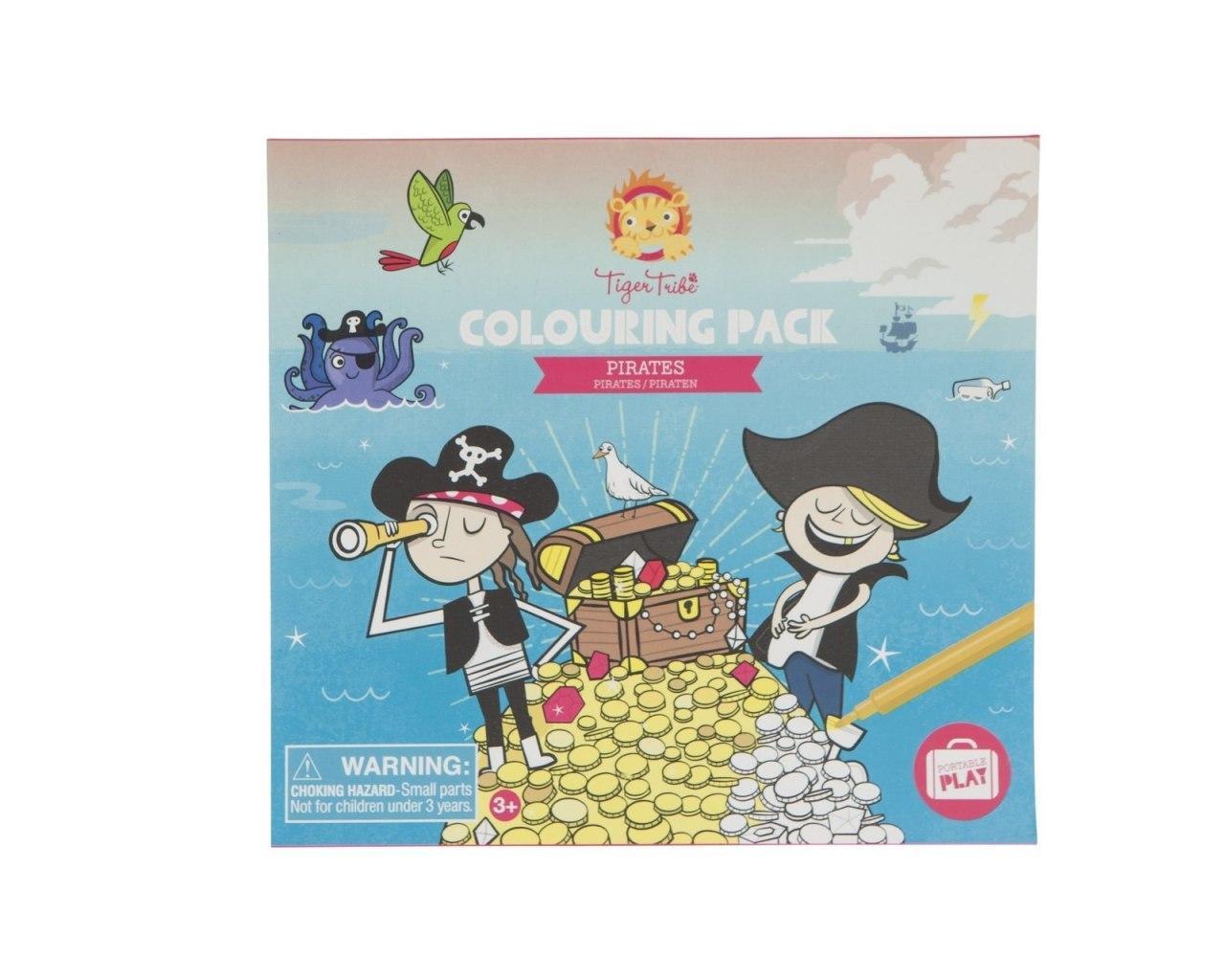 Купить Набор для творчества TIGER TRIBE 6-0304 Пираты малый, Китай