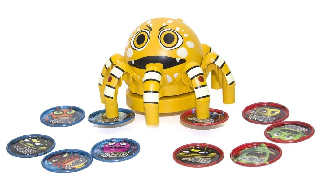 CATCHUP TOYS Настольная игра Spider Spin Cute SS-001S-CUE