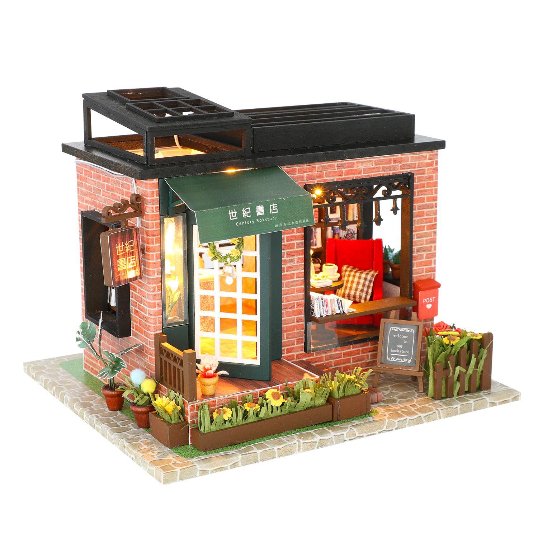 Купить Румбокс DIY MINI House Книжный магазин , Diy House, Китай