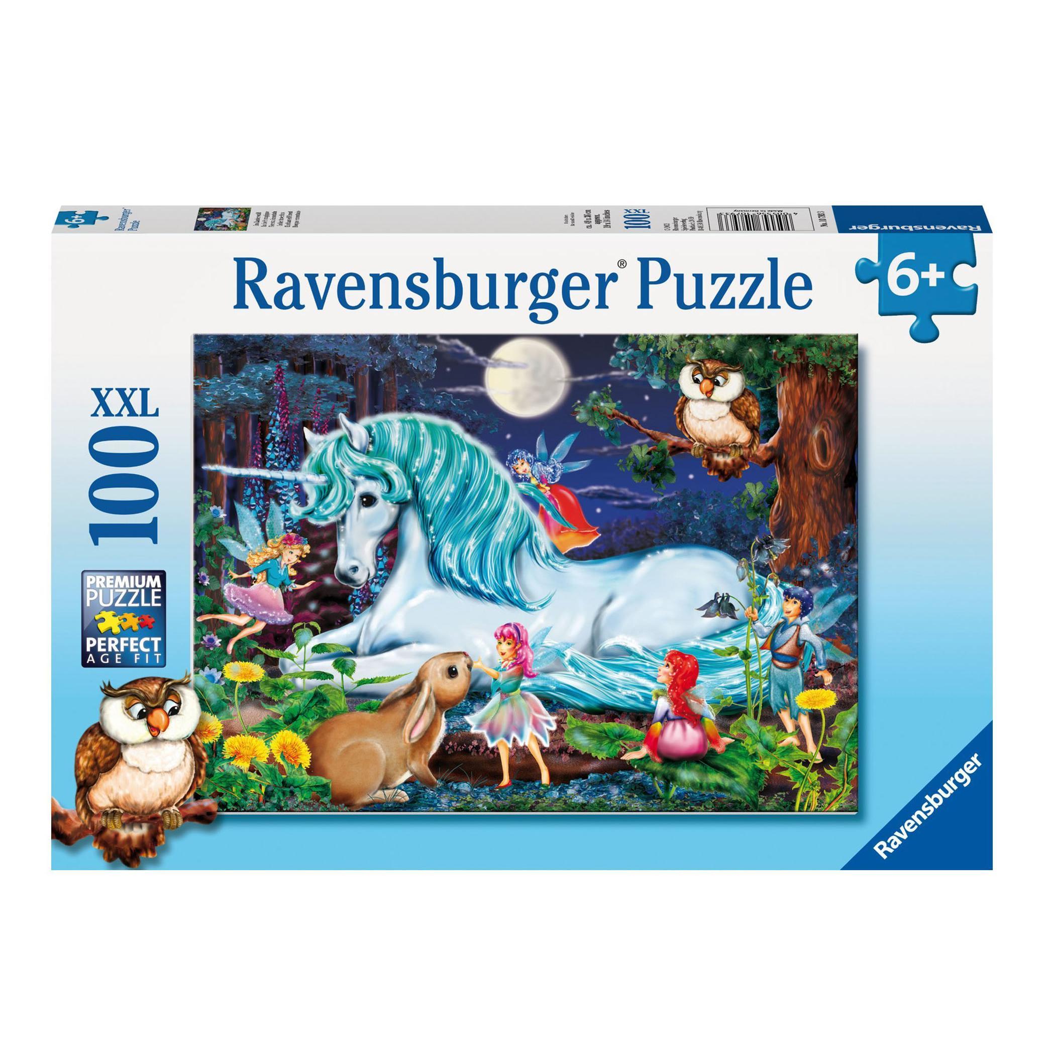 Купить Ravensburger Пазл Зачарованный лес , 100 элементов, Германия