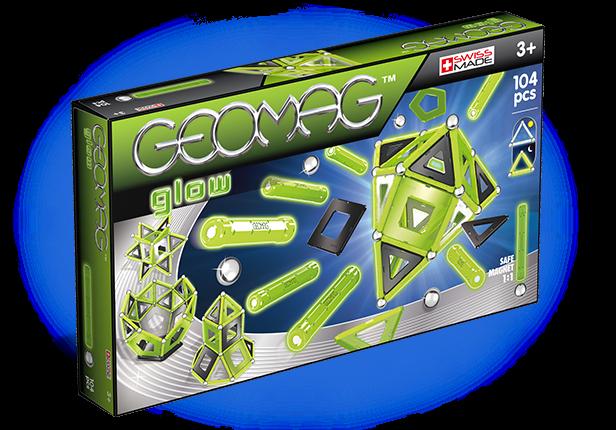 Купить Магнитный конструктор GEOMAG 337 Glow 104 детали, Швейцария