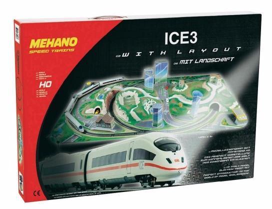 Железная дорога MEHANO T737 Ice 3 с ландшафтом (Сапсан)