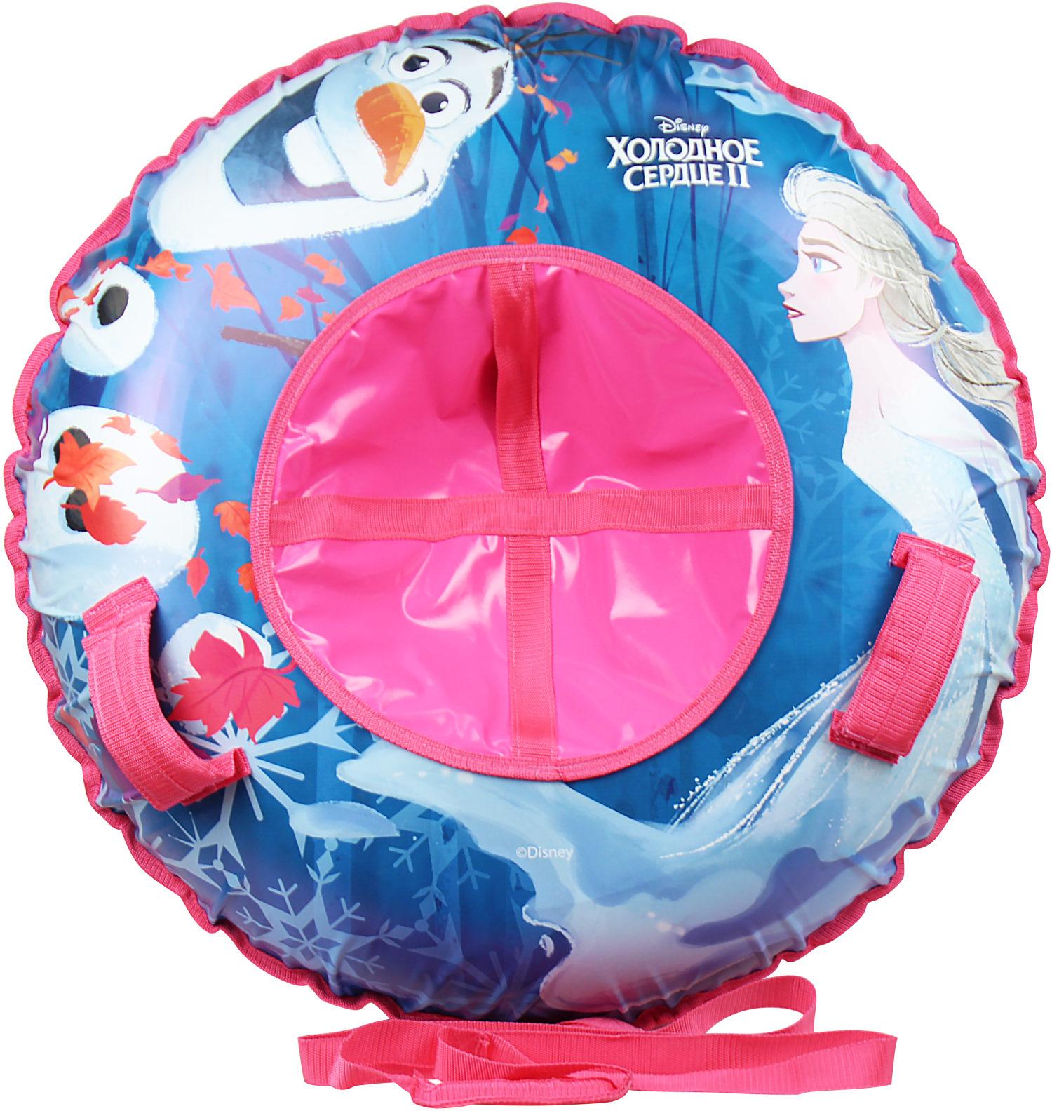 Купить DISNEY Холодное сердце тюбинг 100см - надувные сани, 1toy, Китай