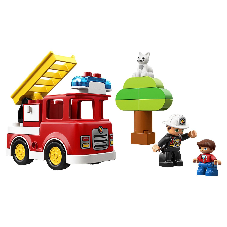 Купить Конструктор LEGO DUPLO Town Пожарная машина, Индонезия