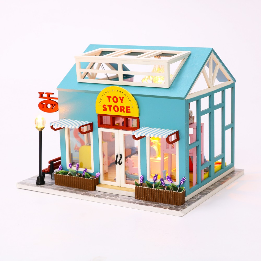 Купить Румбокс DIY MINI House Магазин игрушек , Diy House, Китай