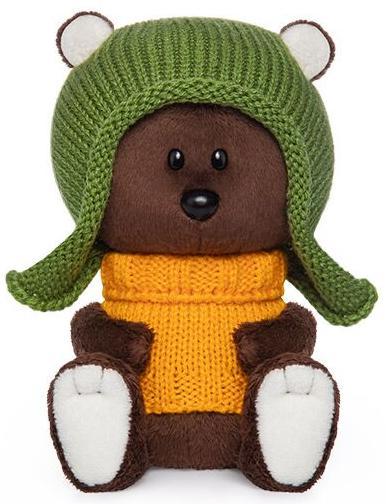 Купить BUDI BASA Медведь Федот в шапочке и свитере - мягкая игрушка, Россия