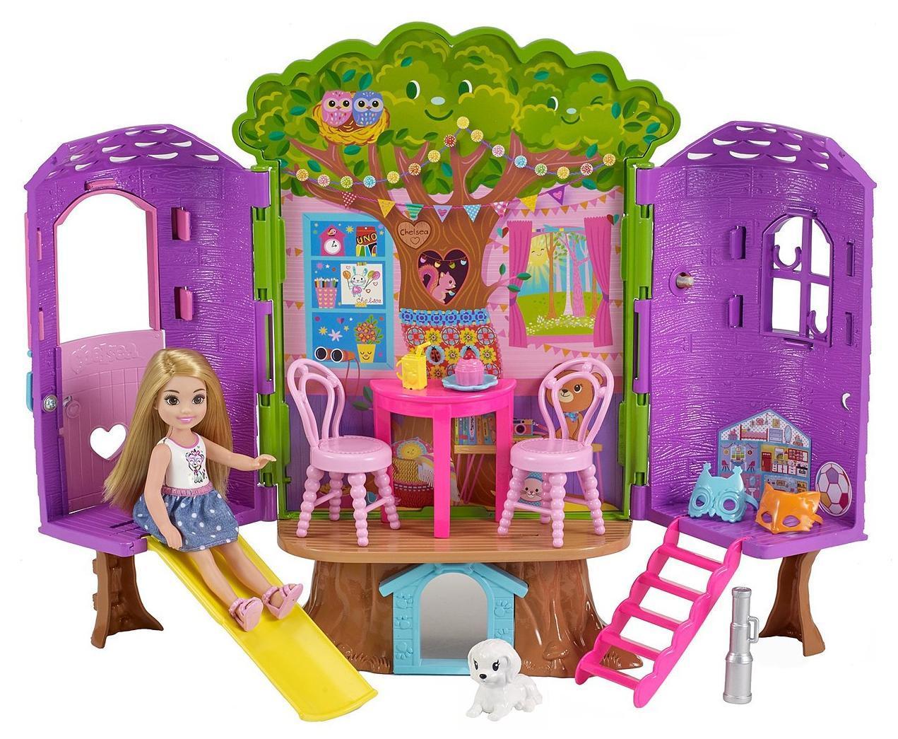 Купить Игровой набор Barbie «Домик на дереве Челси», Китай